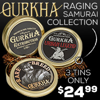 Gurkha Raging Samurai Collection - $24.99