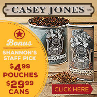 Casey Jones $4.99 Pouches and $29.99 Cans!