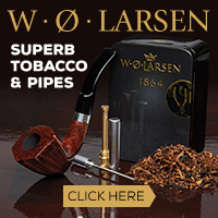 WO Larsen has superb tobacco and pipes!