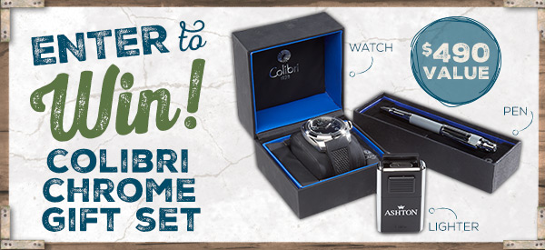 Pipes and Cigars January 2019 Sweepstakes: 2019 - 1 January Colibri Gift Set