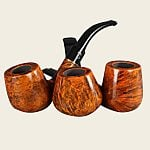 Bjarne Viking Supreme Walnut Pipes