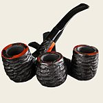 Crown Black Garden Pipes