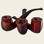 Lorenzetti Dark Brown Pipes