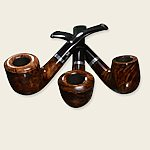 Bjarne Viking Houston Brown Pipes