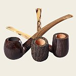 Savinelli Ginger's Favorite Pipes