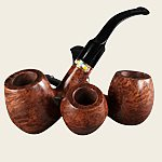 Roma Walnut Select Pipes