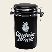 Captain Black Ceramic Jar