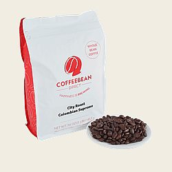 Coffee Bean Direct City Roast Colombian Supremo