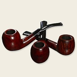 Bjarne Viking Matte Pipes
