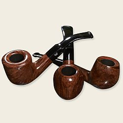 Bjarne Viking Polished Waxed Pipes