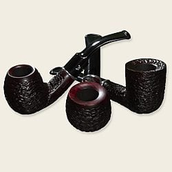 Bjarne Viking Rustic Elsinore Pipes