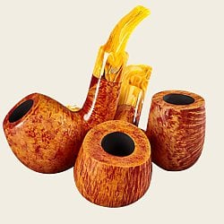 Stanwell Shorty Brown Smooth Pipes