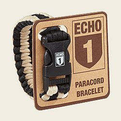Echo One Paracord Bracelet/Pipe Rest