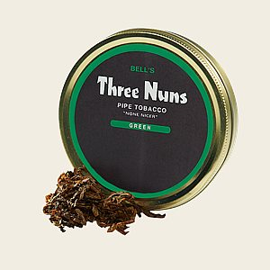 Three Nuns Green Packaged Pipe Tobacco