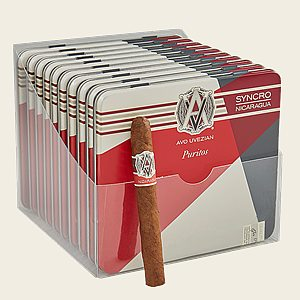 "AVO Syncro Nicaragua Puritos (Cigarillos) (4.0""x30) Pack of 100"