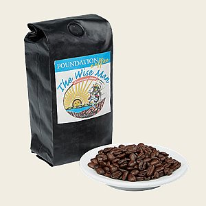Foundation Coffee - Wise Man Blend  12 oz Bag
