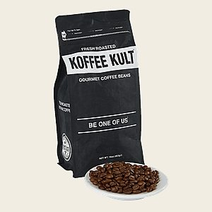 Koffee Kult Coffee - Screaming Indian Espresso  16 oz Bag