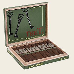 "Caldwell The T Short Churchill (Robusto) (5.5""x48) Box of 10"