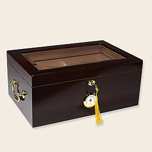 Tuscany Glasstop Humidor Cigar Accesories