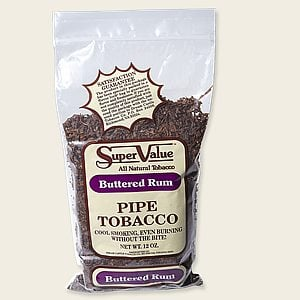 Super Value Buttered Rum Pipe Tobacco