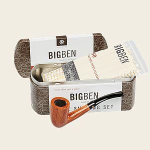 Big Ben Vintage Nature Oiled Starter Set Pipe Samplers