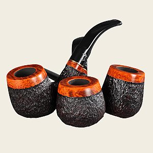 Bjarne Viking Supreme Rustic Pipes
