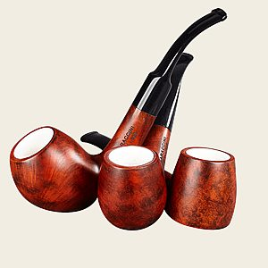 Baraccini Meerschaum Lined Pipes