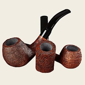 Briar Works Classic Series Brown Blast Pipes