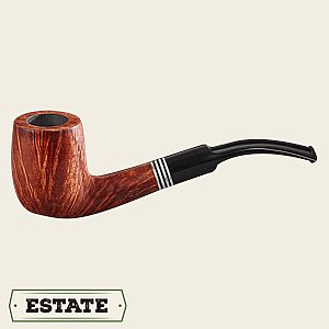 Borkum Riff Bent Billiard Estate Pipes