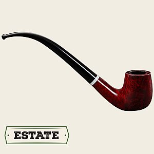 Unsmoked Roma Swarovski Bent Billiard  Unsmoked Roma Bent Billiard