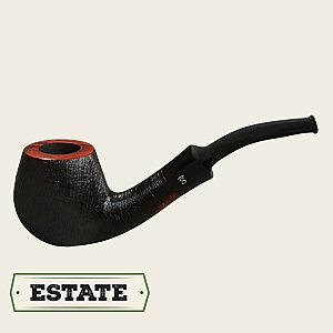 Stanwell Brushed Black Bent Apple  Stanwell Bent Apple