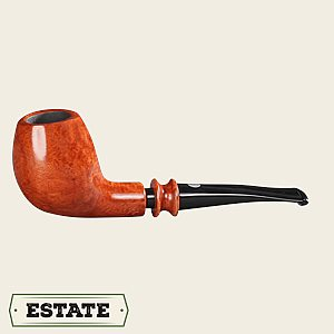 Mastro de Paja bent Egg Estate Pipes