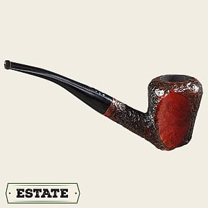 Carey Magic Inch Bent Dublin/Acorn Estate Pipes