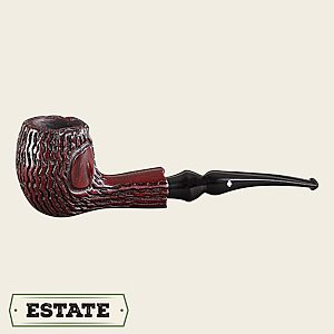 Dr. Grabow Rusticated Freehand Bent Egg Estate Pipes