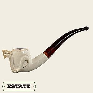 Paykoc Meerschaum Bent Billiard w/Cobra Estate Pipes