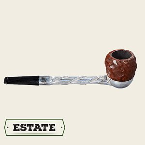 Koolsmoke Straight Apple  Estate Pipe
