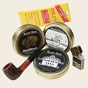 At the Marquee Club Pipe Kit Cigar Samplers