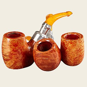 Peterson Amber Smooth Pipes