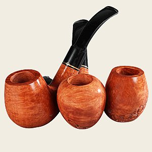 Roma Gold Natural Pipes