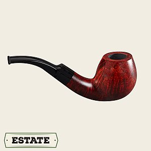 Stanwell Silkebrun Bent Canted Egg Estate Pipes