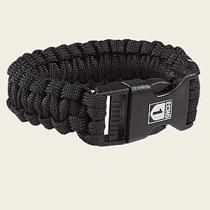 Echo One Paracord Bracelet/Pipe Rest - Black