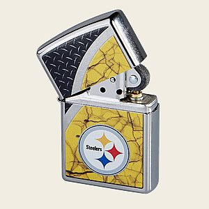 Zippo Lighter - Pittsburgh Steelers