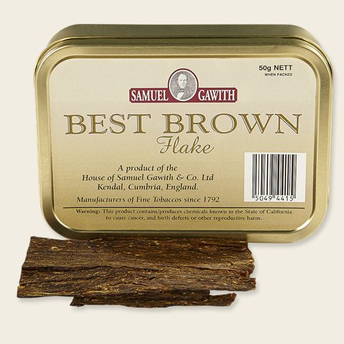 Samuel Gawith Best Brown Flake Pipe Tobacco & Save on Sam Gawith Best Brown Flake tobacco at Pipes and Cigars!
