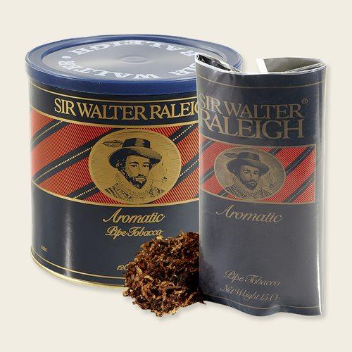"Sir Walter Raleigh Smoking Tobacco Rustic Retro Metal Sign 8/"" x 12/"""