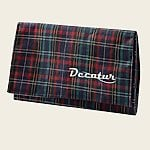 Decatur Plaid Roll-Up Pouch