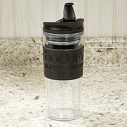 Bodum 15oz Black Travel Mug