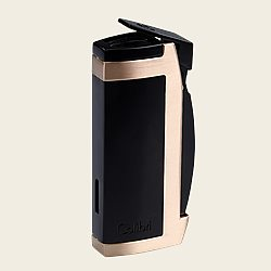 Colibri Enterprise II DBL Lighter [BLK/GLD]