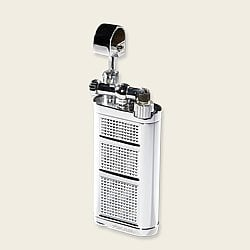 Xikar Pipeline Flint Lighter - Chrome/Silver