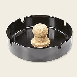 Tuxedo Black Ashtray