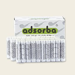 Adsorba 9mm Charcoal Filters